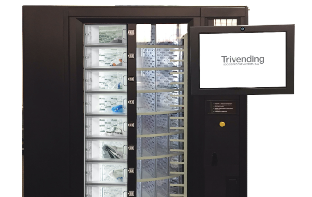 Distributore automatico Termoscanner Trivending